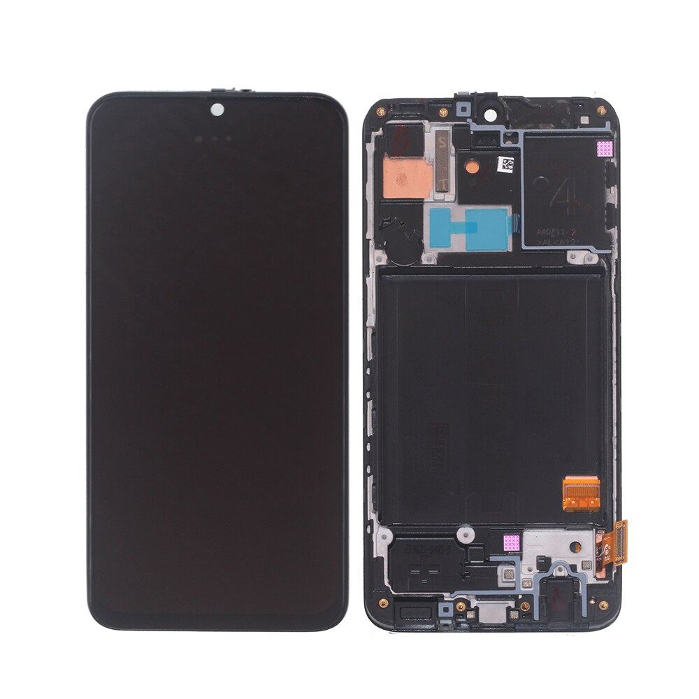 AMOLED For Samsung Galaxy A40 2019 A405 LCD Display Touch Screen Digitizer Parts For Samsung A405FM/DS Screen LCD Display +Frame enlarge