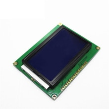 ЖК-панель желто-зеленый экран 12864 128X64 5V синий экран ST7920 ЖК-модуль для arduino