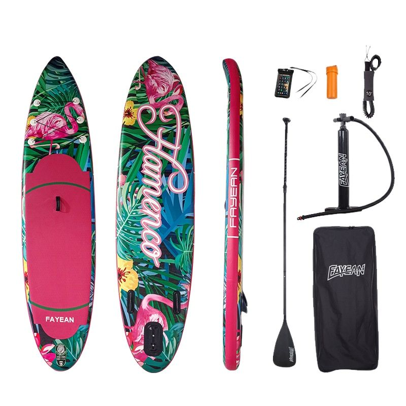 Surfboard inflatable sup paddle board adult floating board standing pvc paddle board