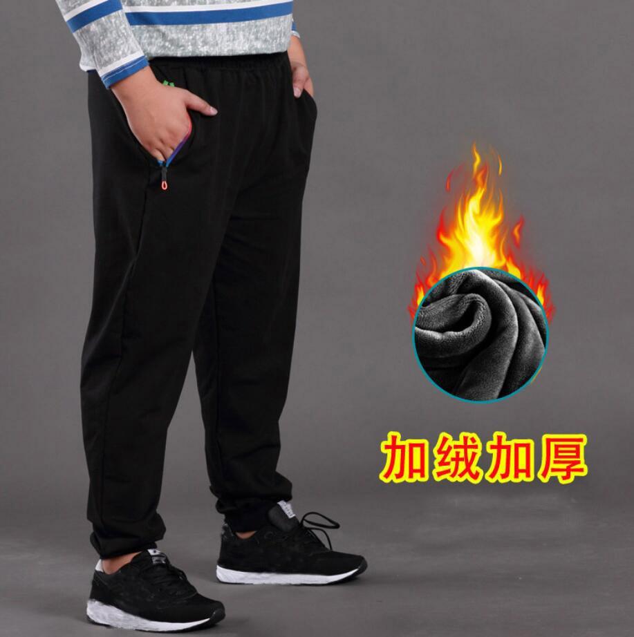 High quality Summer men sweatpants sports pants plus size 7XL 8XL 9XL 12XL oversize pants black simple 180KG 58 60 62 66 68 70