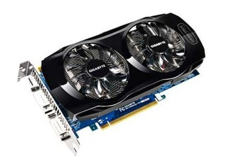 Gigabyte GV-N560UD-1GI tarjetas de gráficos de 256 bits GTX 560 1 GB GDDR5 HDMI 2 * DVI para Nvidia Geforce GTX560 Original se utiliza la tarjeta de vídeo