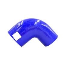 Manguera reductora azul de codo de 90 grados de silicona de 51mm a 57mm/60mm/63mm/70mm/76mm