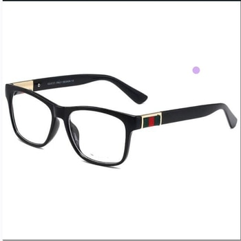Fashion woman transparent glasses Luxury brand flat glasses, clear lenses Reading mirror, anti-blue light Low-cost wholesale