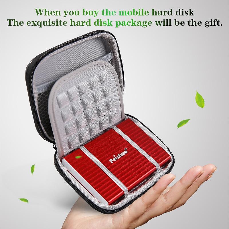 Portable External Hard Drive Custom LOGO USB3.0 2000gb 320gb 500gb 1tb hard disk external  HDD External HD Hard Disk for PC/Mac