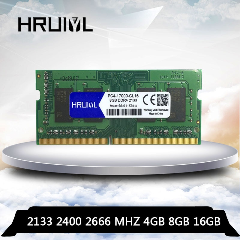 HRUIYL محمول DDR4 4GB 8GB 16GB 4G 8G 16G RAM ذاكرة DDR 4 PC4-17000 PC4-19200 2133 2400 2666 mhz ميموريال 260 دبوس SODIMM