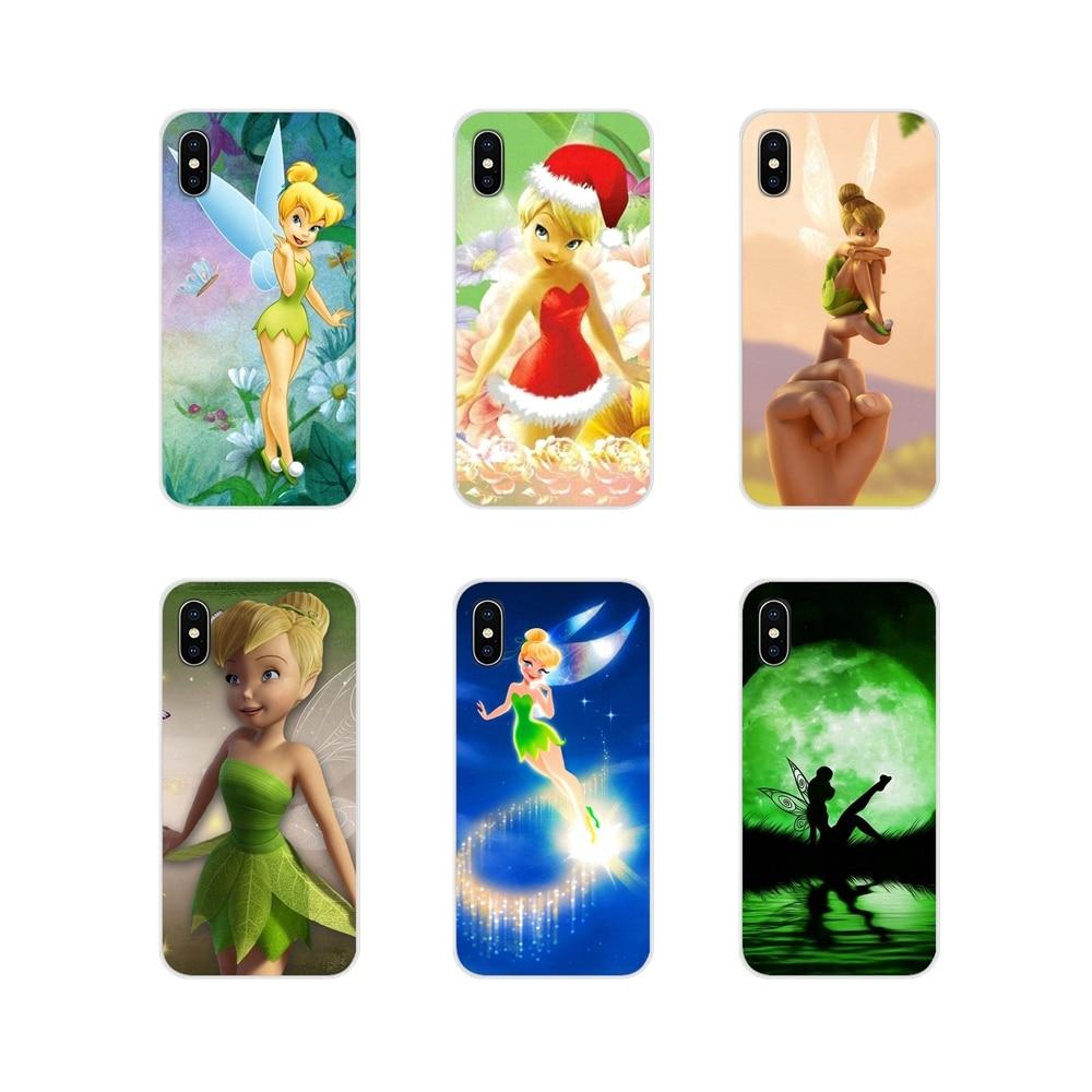 Para Xiaomi Redmi 4A S2 nota 3S 3S 4 4X4 5X5 6 Plus 7 6A Pro teléfono móvil F1 Peter Pan Wendy Tinkerbell Tinker Bell de silicona cubierta de la cáscara