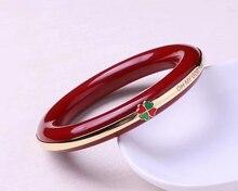 Koraba Natural 14K  Red Coral Women Bracelet Bangle  Gemstone  Citrine Bracelet