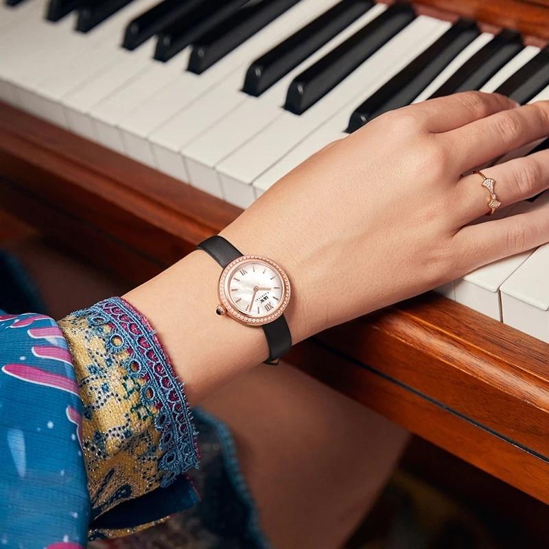 CARNIVAL Brand Ladies Fashion Watch Women Luxury Waterproof Rose Gold Mechanical Wristwatch Sapphire Automatic Relogio Feminino enlarge
