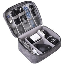 Digital Storage Bags Electronics Cable Organizer Usb Gear Wires Portable Charger Power Battery home