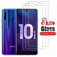 3pcs tempered glass for honor 10i 30s 20 lite 8x 9x 9 10 20 lite screen protective glass for huawei honor 8x 9x 20 pro 10i glass