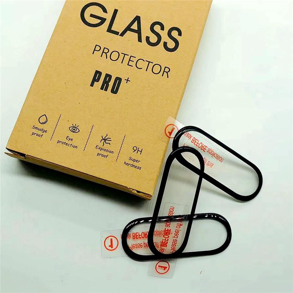 Cubierta protectora de pantalla curvada 3D, repuesto de funda protectora de pantalla para Xiaomi Mi Band 5, accesorios para reloj