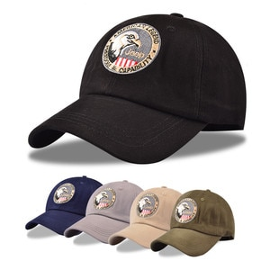 Spring And Summer Eagle Embroidery Baseball Trendy Caps Men'S Outdoor Sports Trendy Caps Ladies Sun-Shading And Sun-Proof Caps