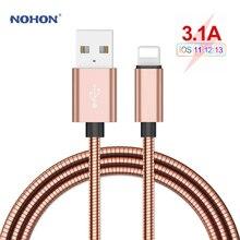 Câble de charge rapide de foudre de câble dusb de Type C de NOHON pour liphone XR X XS