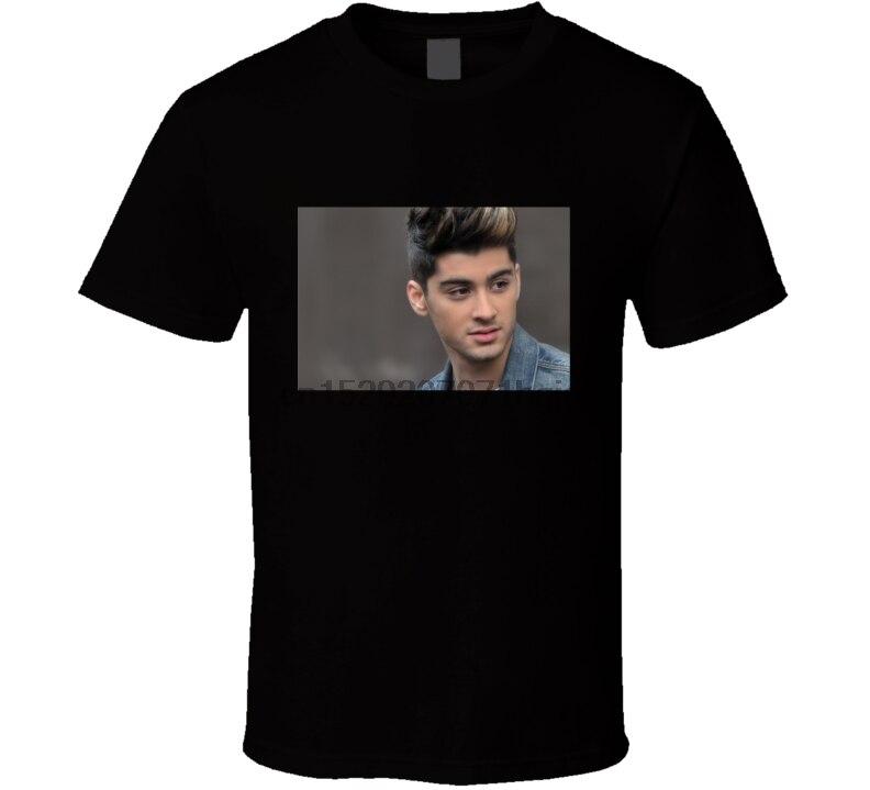 Camiseta de hombre Zayn Malik One Direction, camiseta de música, camiseta para mujer