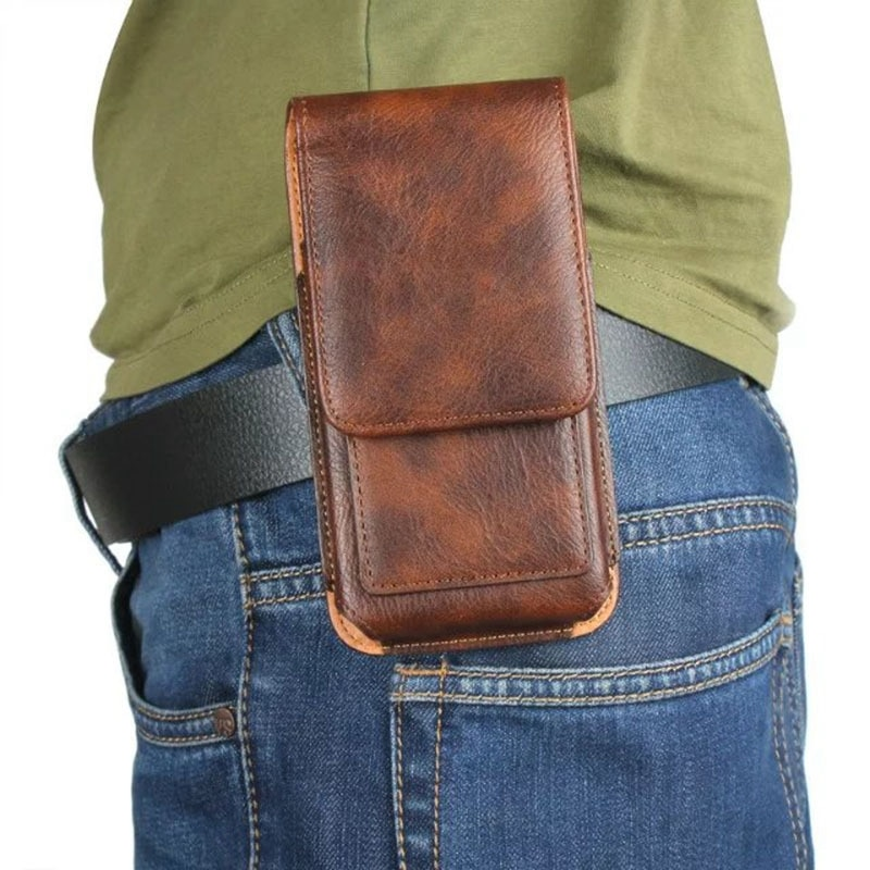 Fanny Pack Phone Pouch Holster for iphone 6/6s/7 / 8 Universal 4.7/5.5 inch Belt Bag Men Waist Bag for iphone 6 6S 7 8 Plus