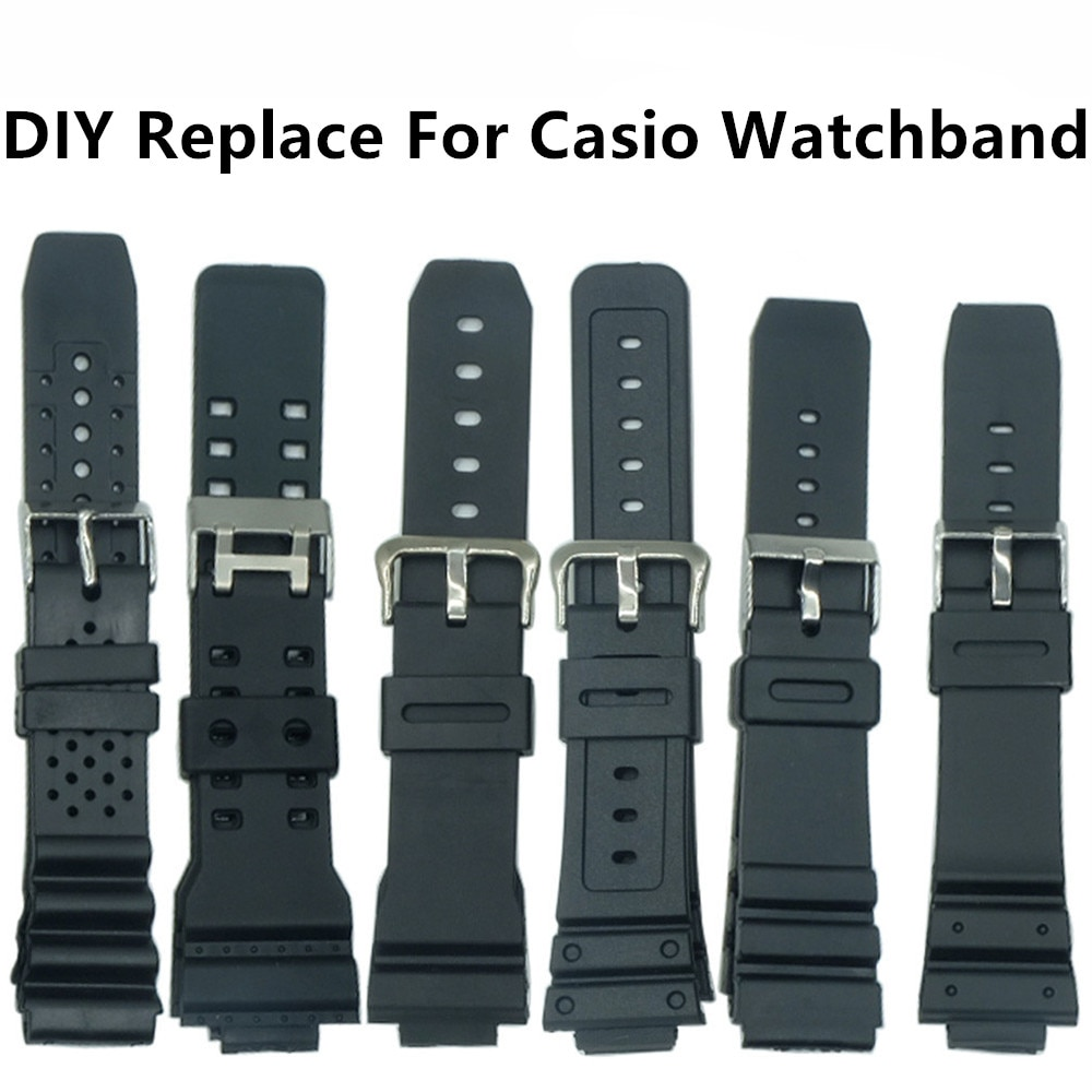 20mm coffee brown silicone jelly rubber unisex watch band straps wb1072s20jb For  Watches Watchband Silicone Rubber Bands EF Replace Electronic Wristwatch Band Sports Watch Straps 16mm 18mm 20mm 22mm