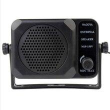 Hohe Qualität 3 W Radio Mini Handheld Externe Lautsprecher NSP-150v Schinken Für HF/VHF/UHF/Hf Auto radio Transceiver Verdrahtete Lautsprecher