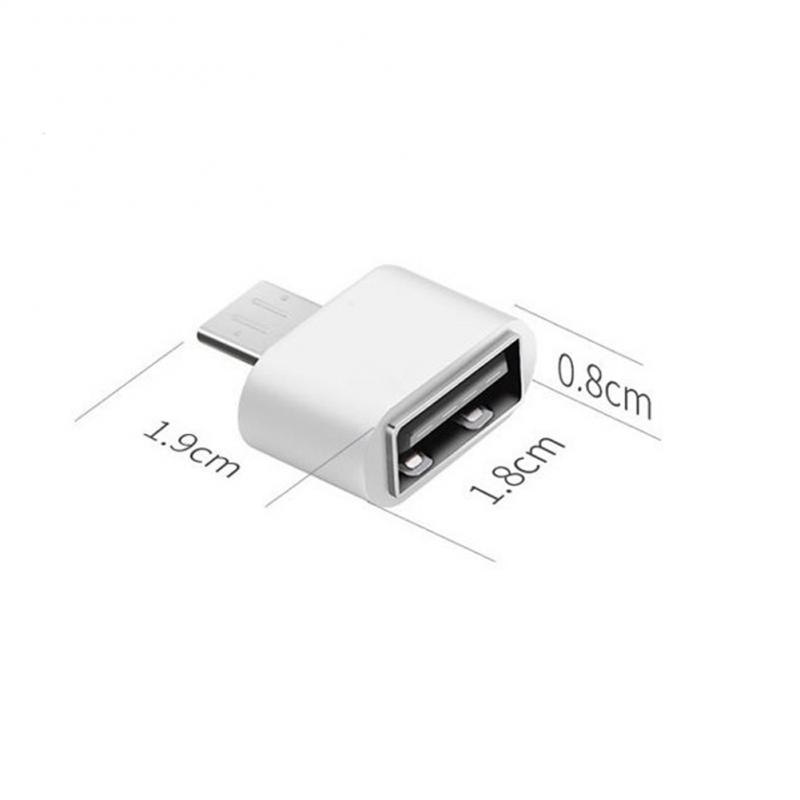 Type C OTG USB 3.1 To USB2.0 Adapter Connector For Samsung Huawei Phone High Speed Certified Cell Phone Smartphones  Accessories