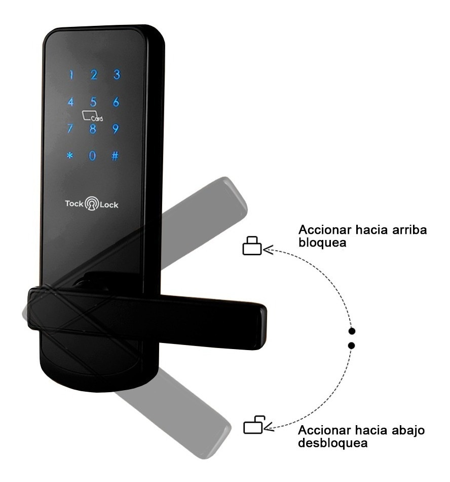 TTlock Bluetooth WiFi Smart Electronic Door Lock Keypad Smart Door Lock For Home Airbnb House Apartment with App Remote Control