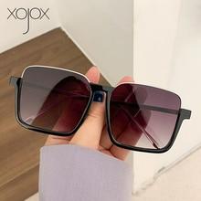 XojoX 2021 New Women's Sunglasses Men Outdoor Sun Glasses Anti-Blue Light Computer Glasses Frame 202