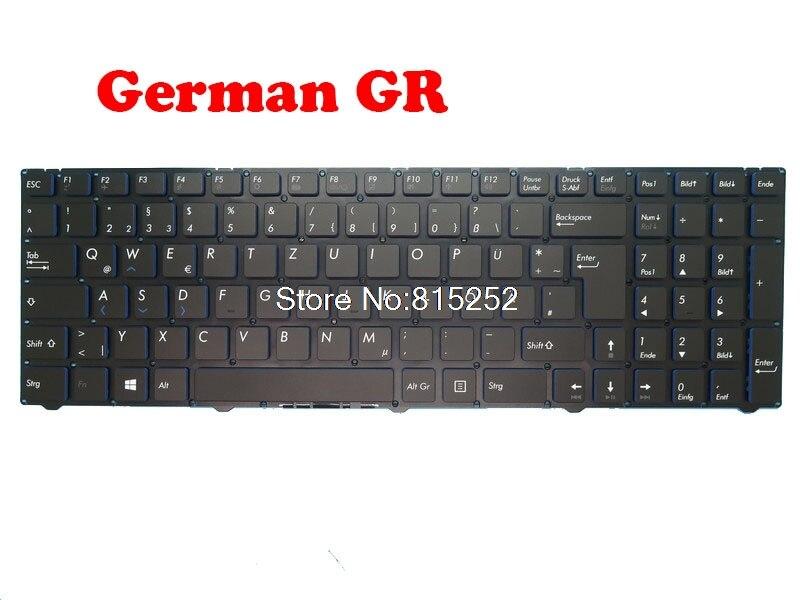 Teclado do portátil para medion erazer p6679 md60359 md6474 md60333 md60332 md60594 md60382 md60748 sp/gr/uk