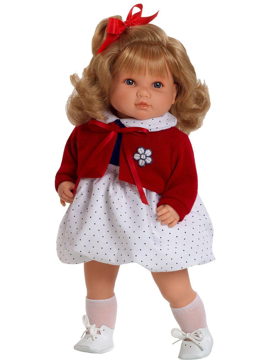 Doll Berbesa soft 42 cm SANDRA (4412)