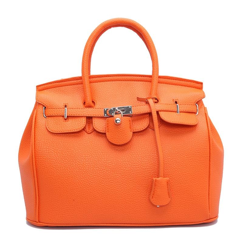 2021 Autumn and Winter Fashion Bag Lychee Pattern Platinum  Lock Large Capacity Handbag In Stock Bags