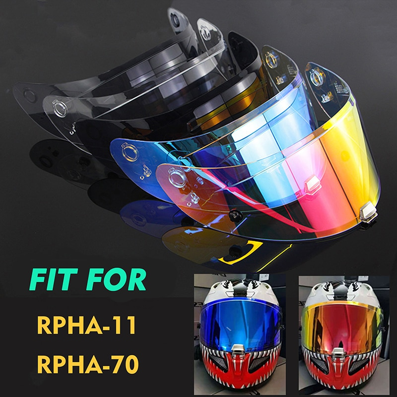 nuovo-casco-moto-hj-26-visiera-casco-per-hjc-rpha-11-rpha-70-revo-visione-notturna-universale-uv-antiriflesso-lente-moto-visiera