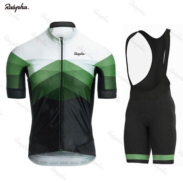 Conjunto de Jersey de ciclismo Ralvpha para hombre 2020, conjunto de manga corta de verano, pantalones cortos con babero para mujer, ropa para bicicleta, camisa, traje Northwave