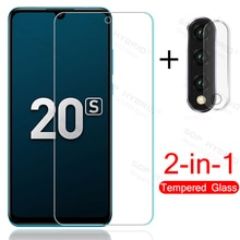 2in1 Camera glass for honor 20s 20 s honor20s protective glass for honor 20 lite 20lite light mar-lx