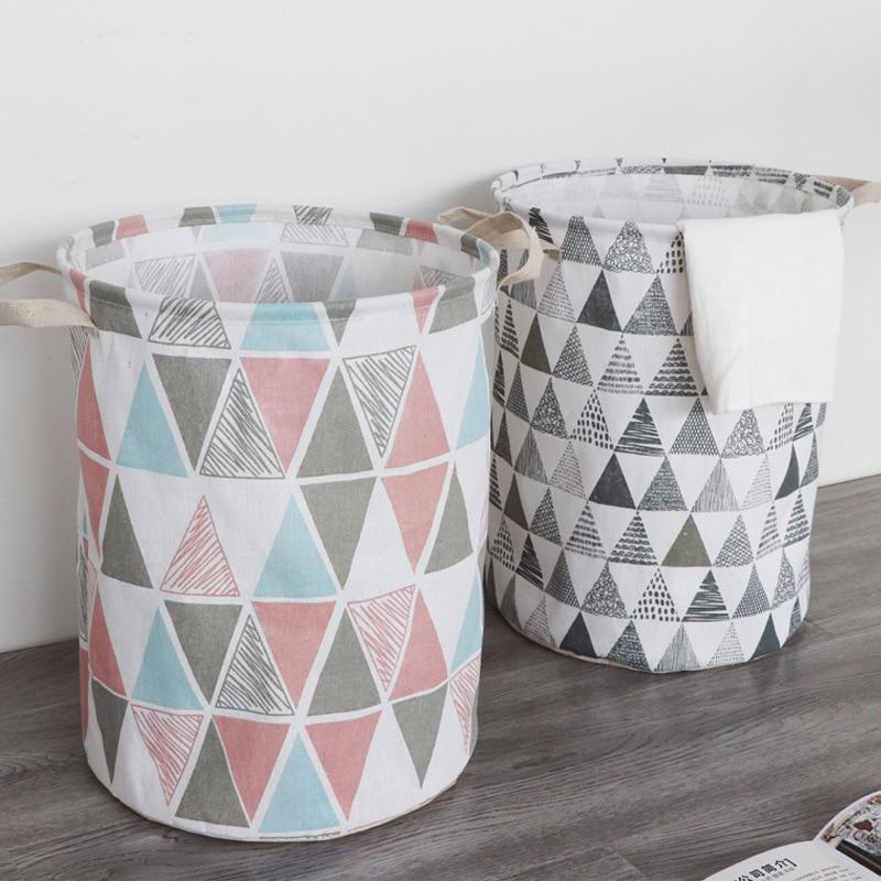Clothing Laundry Basket Bag Folding Laundry Basket Large Capacity Clothes Storage Bag Children Toy S