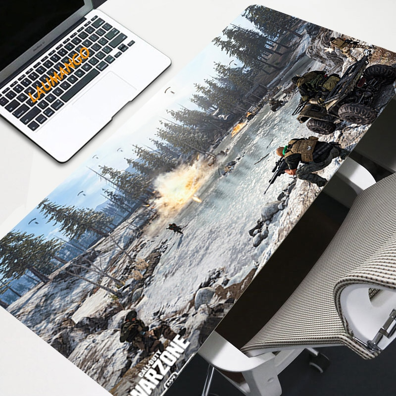 Warzone Mouse Pad Large Pad Laptop Mouse Notbook Computer Creative Rubber Mat Gaming Mousepad for LO