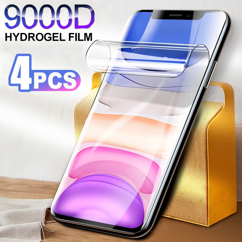 4pcs-full-cover-hydrogel-film-on-the-screen-protector-for-iphone-7-8-6-6s-plus-screen-protector-on-iphone-x-xr-xs-max-11-12-pro