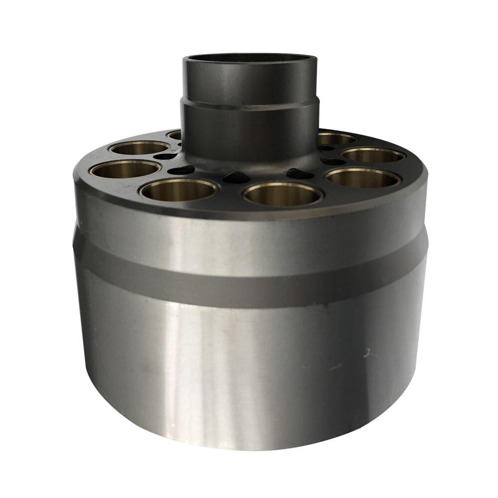 Pièces de rechange pompe hydraulique   Bloc de cylindre SBS120 pour la réparation des pièces dingénierie CAT