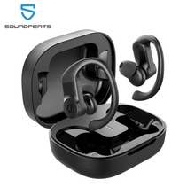 SOUNDPEATS True Wireless Earbuds Over-Ear Hooks Bluetooth Stereo Wireless Earphones 13.6mm Driver To