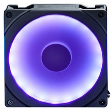 HOT-PHANTEKS Halo 140mm RGB Bunte LED Fan Blende (Kompatibel mit 14cm Lüfter/Lange Schraube/Synchron motherboard Control)