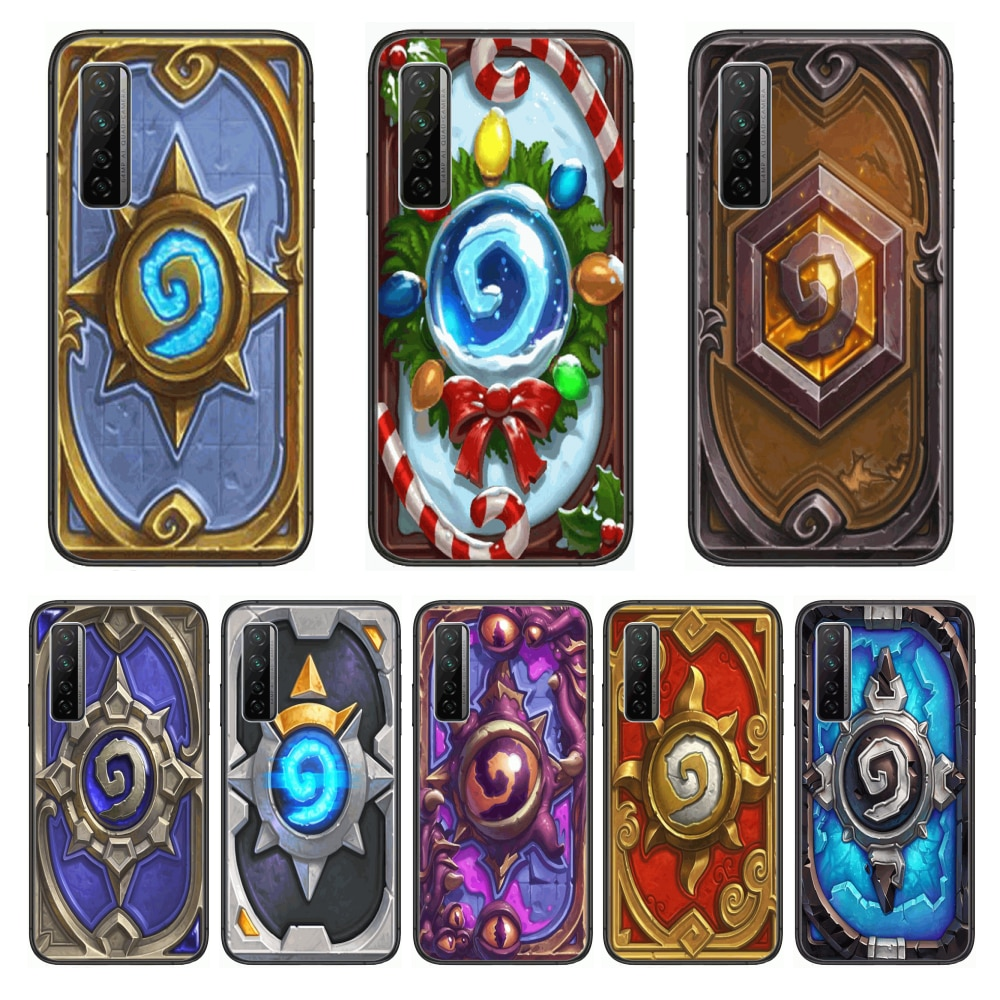 Frosting Hearthstone  Phone Case For Huawei Nova p10 lite 7 6 5 4 3 Pro i p Smart ZBlack Etui 3D Coque Painting Hoesje