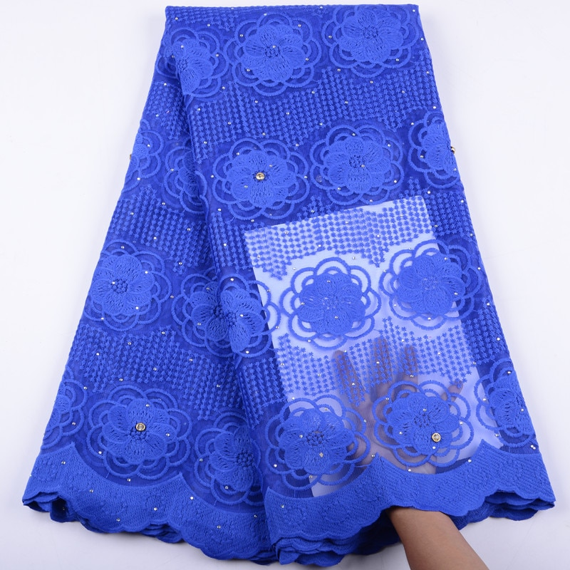 High Quality French Lace Fabric With Beaded Floral Nigerian Trimming  lace African Tulle 2019
