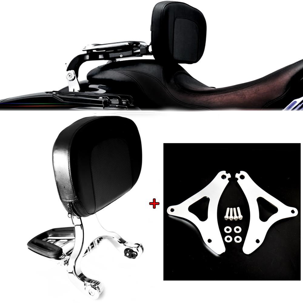 مثبت ومسند ظهر للسائق لـ Harley Touring Street Glide FLHX Road King 14-20