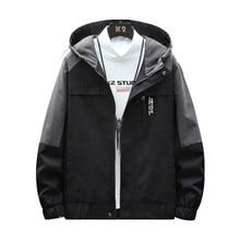 New Men's High-quality Jacket Thick Warm Mens Jackets Brand Windbreaker Coat Casual Streetwear Cloth