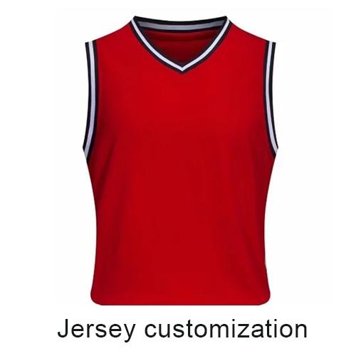 4 بدلة كرة السلة مخصصة للرجال تي شيرت موضة صديقها هدية فضفاضة تي شيرت Me19