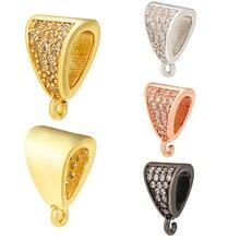Zhukou 8x12mm cristal forma irregular fecho ganchos para as mulheres diy artesanal colar brincos jóias acessórios modelo: vk83