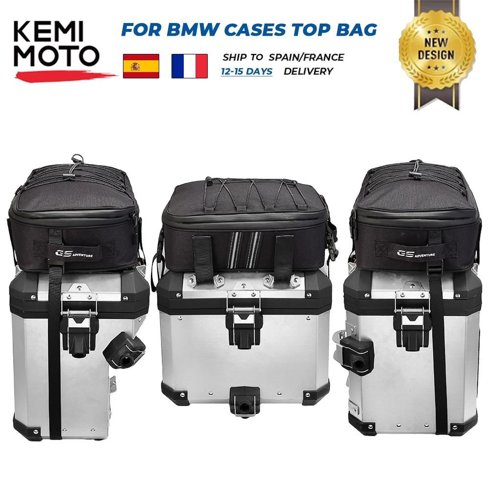 حقيبة أمتعة مع صندوق علوي ، حقائب لسيارات BMW R 1200GS LC R1250GS Adventure ADV F750GS F850GS