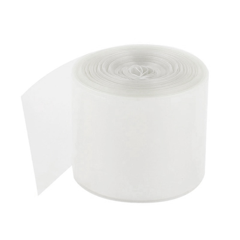 Pvc Heat Shrink Tubing Tube 70mm For 4 X 18650 Shrink Film 5M Clear