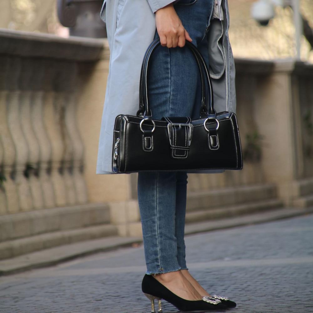 Simple Women Bag Female Handbags Leather Ladies' Shoulder Bag  Luxury Designer Retro Tote Bag Brand Fashion Big Bag