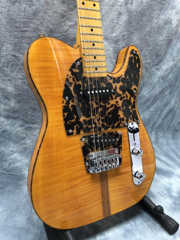 MadCat TL-guitarra eléctrica, juguete de 2020, arce de llama de ráfaga, 10S,...