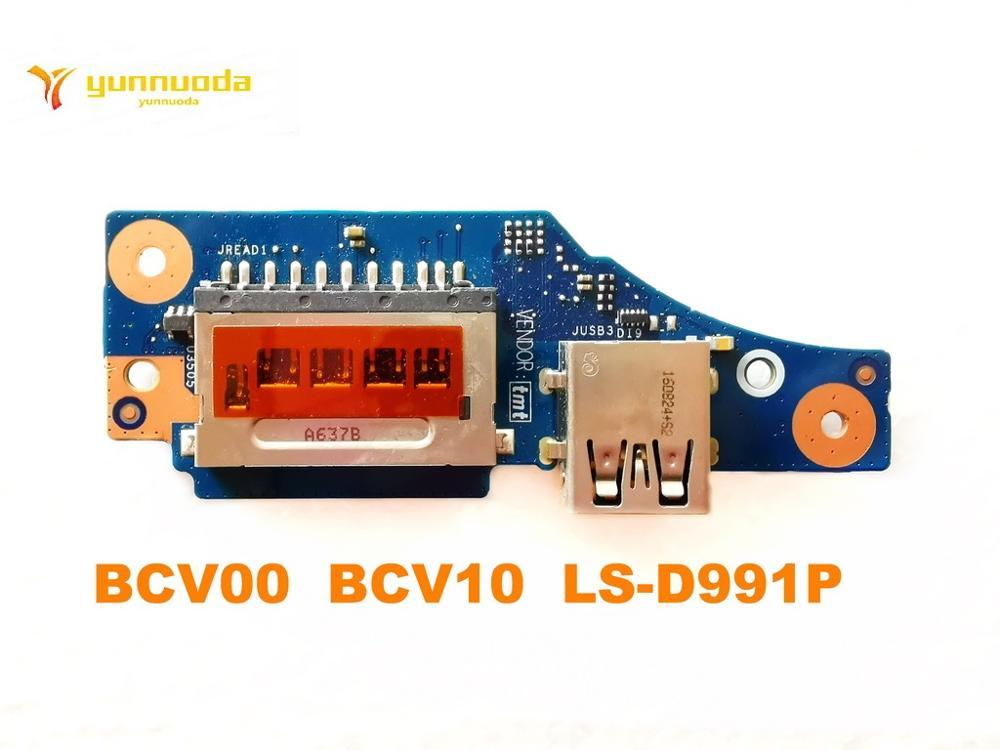 الأصلي لديل 7466 7467 7566 7567 بلاكا USB مجلس BCV00 BCV10 LS-D991P اختبار جيد شحن مجاني