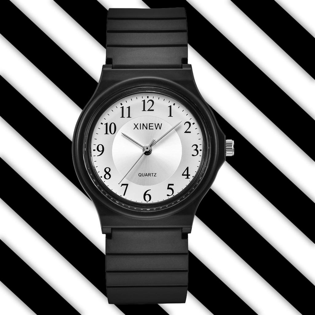 Ultra-thin Unisex Children Watch Silicone Sports Watch Analog Quartz watch Kids watches Student Cloc