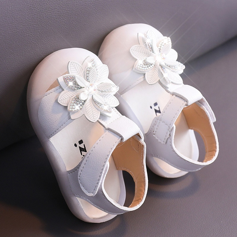 Children's Sandals Girls Sandals 2021 New Summer Princess Shoes Fashion Flower College Beach Shoes