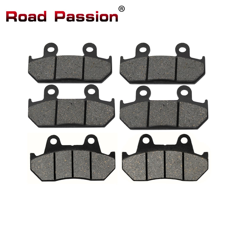 motorcycle parts front and rear brake pads discs kit for for cbr 600 f4 f4i motorcycle accessories Road Passion Motorcycle Front and Rear Brake Pads for HONDA CBR 600 CBR600 CBR600F CBR 600F 1987 1988 1990